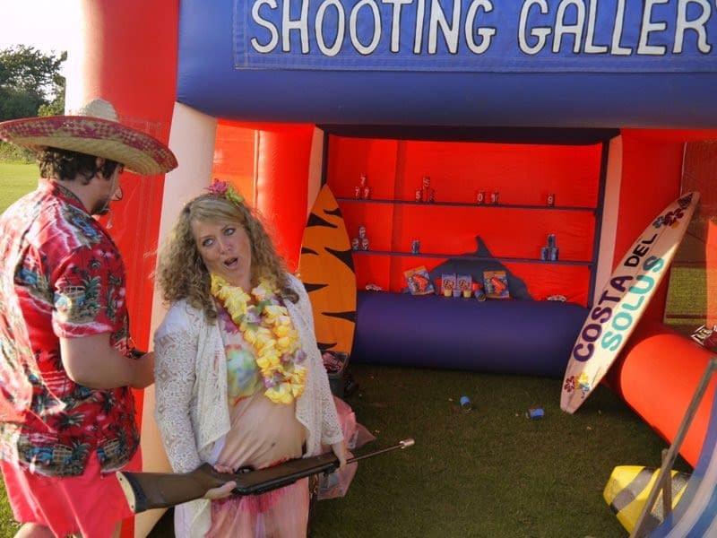 HAWIIAN SHOOTING GALLERY