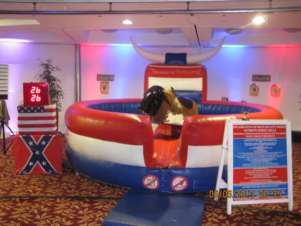 THE RODEO BULL SET UP