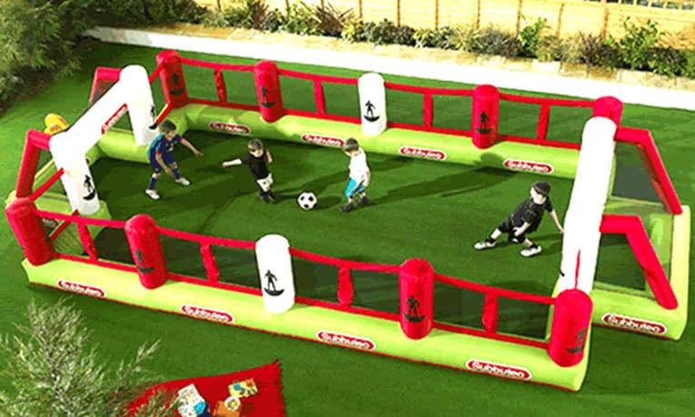 BLOW UP SUBBUTEO FOOTBALL 25FT BY 12FT