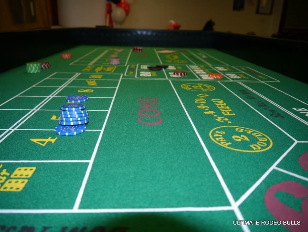 FUN CASINO - CRAPS/DICE TABLE