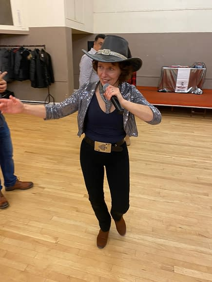 FRANCES THE BARN AND LINE DANCE INSTRUCTOR