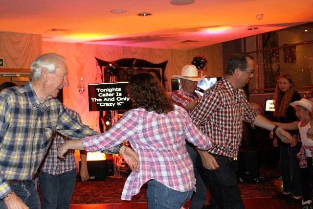 BARN DANCE CALLER HIRE STAFFORDSHIRE