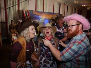 WILD WEST BANDS DJS AND KARAOKE FUN